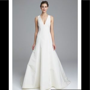 "Amsale ""Keaton"" Fit and Flare wedding dress"